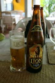 Sri Lanka's national beer, Lion