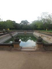 Sri Lanka Anuradhapura Kuttam Pokuna pots of abundance