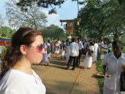 Sri Lanka Anuradhapura Ruwanweli stupa pilgrims