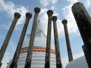 Sri Lanka Anuradhapura Thuparama stupa