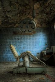 Top 10 abandoned German war hospital