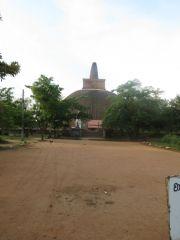 Sri Lanka Anuradhapura Abhayagiri stupa today