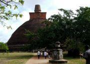 Sri Lanka Anuradhapura Abhayagiri stupa