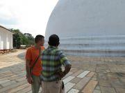 Sri Lanka Anuradhapura Mirisawetiya stupa Dutugamunu story