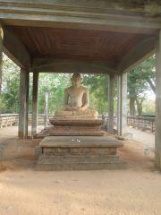 Sri Lanka Anuradhapura Samadhi Buddha statue