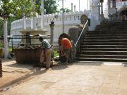 Sri Lanka Anuradhapura Thuparamaya stupa entrance