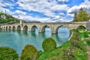 Bosnia Visegrad roman bridge Na Drini cuprija