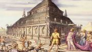 Seven wonders mausoleum of Halicarnassus by Martin Heemskerck