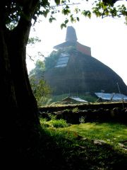 Sri lanka Anuradhapura Jethawanaramaya stupa 1994