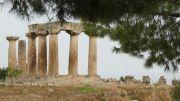 Greece Ancient Corinth temple of Apollo