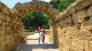 Greece ancient Olympia stadium