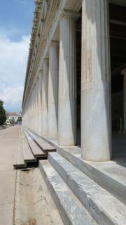 Greece athens agora stoa