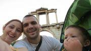Greece Athens Hadrian arch
