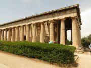 Greece Athens temple of Hephaestus