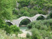 Greece Epirus Kipi bridge