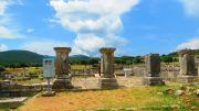 Greece Peloponnese ancient Messene asclepion