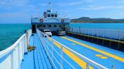Greece Peloponnese Elafonisos ferry