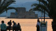 Greece Peloponnese Nafplio Bourtzi fortress