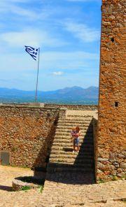 Greece Peloponnese Nafplio Palamidi fortress