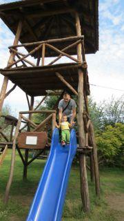 Serbia Subotica Palic ethno park Majkin salas kids playground