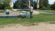 Serbia Subotica Palic ethno park Majkin salas pool