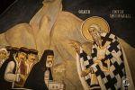 Montenegro Ostrog monastery inside fresco holy Petar Cetinjski