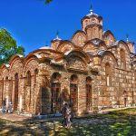 Serbia monastery Gracanica