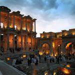 Turkey Ephesus dinner at Celsus library